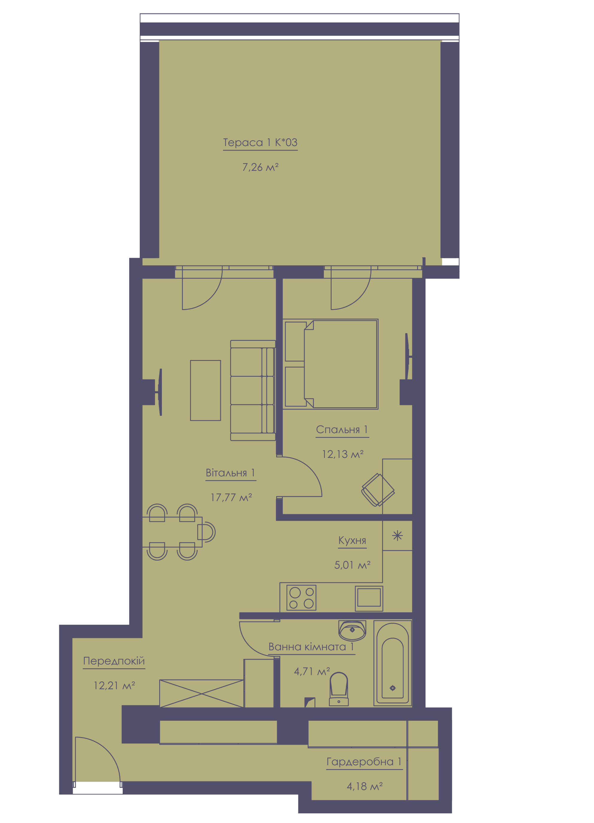 Apartment layout KV_7_1.2d_1_1_8-1