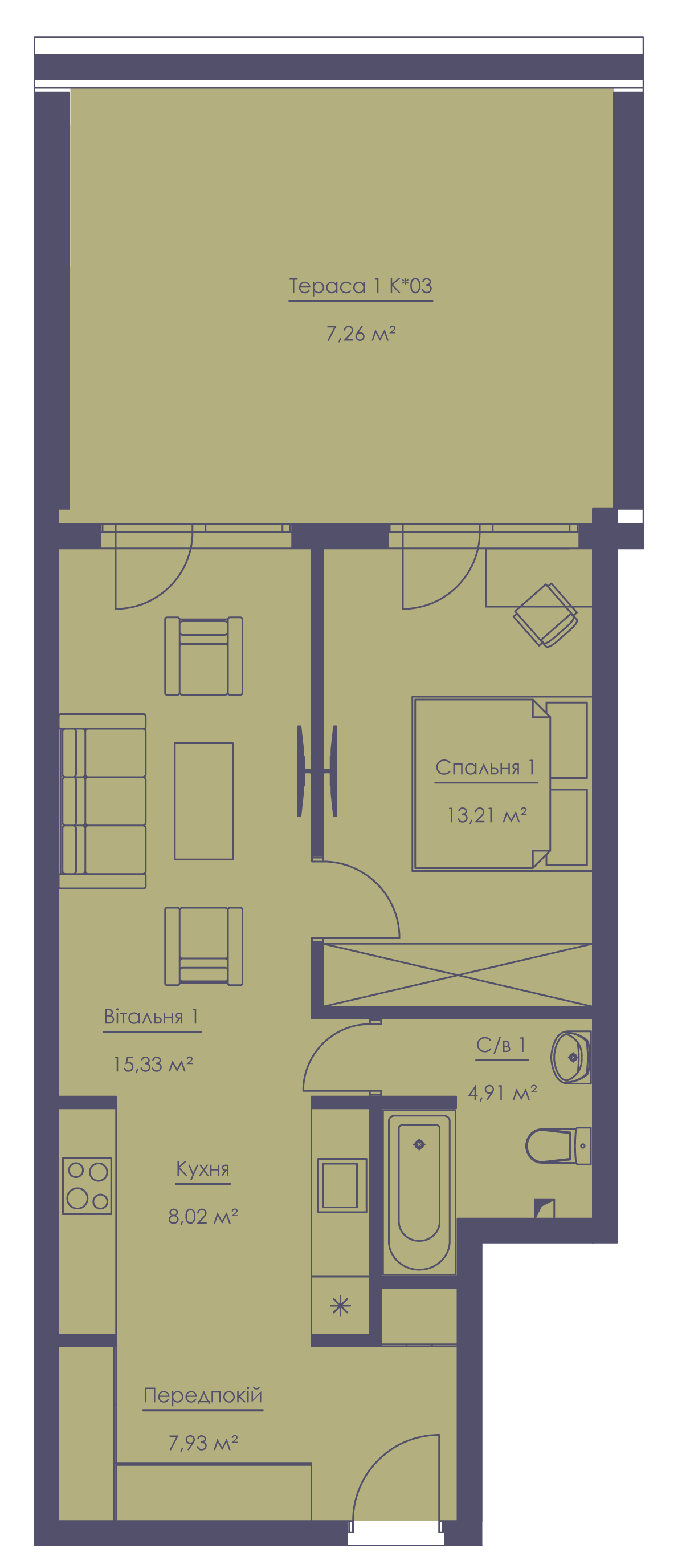 Apartment layout KV_8_1.2g_1_1_7-1