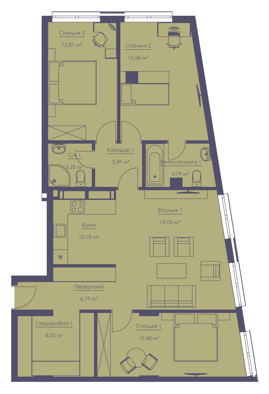 Apartment layout KV_36_2.4g_1_1_11-1