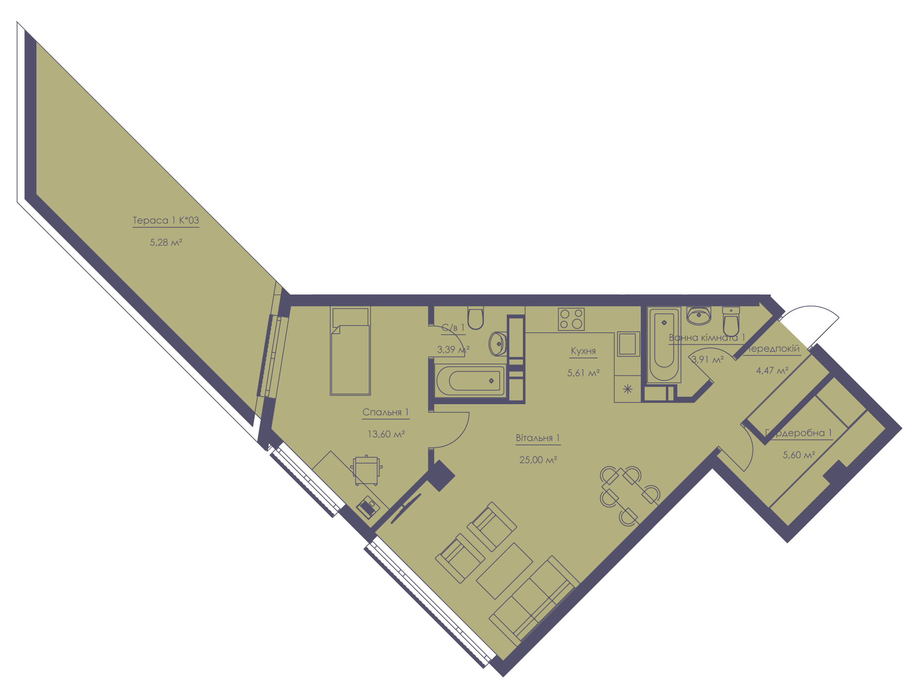 Apartment layout KV_28_2.2b_1_1_4-1