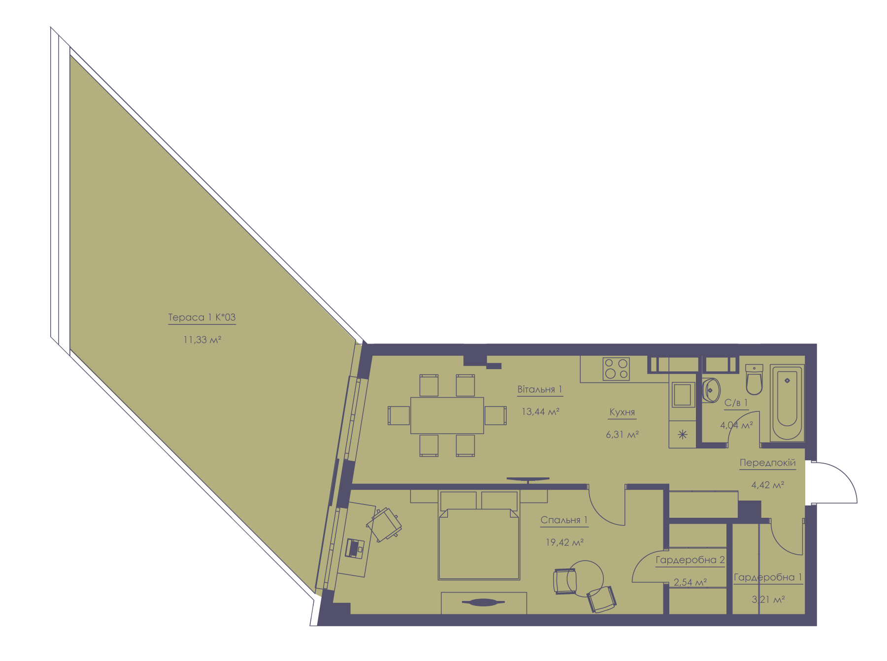 Apartment layout KV_29_2.2v_1_1_5-1